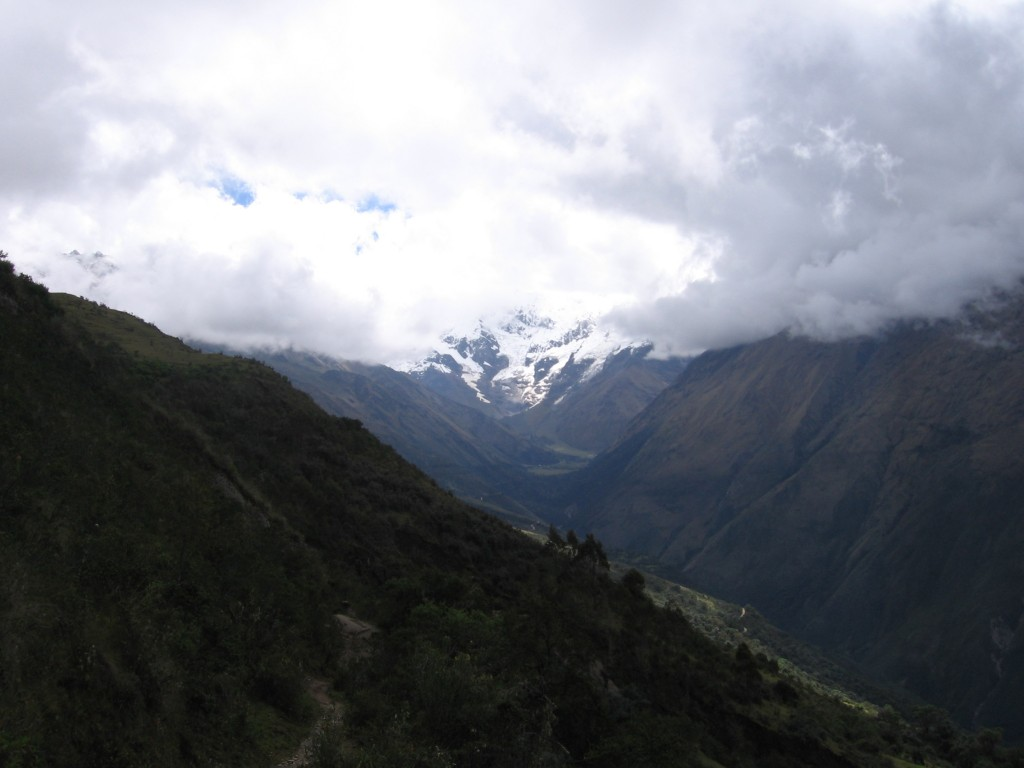 Day 1 - Salkantay Mountain from a distance