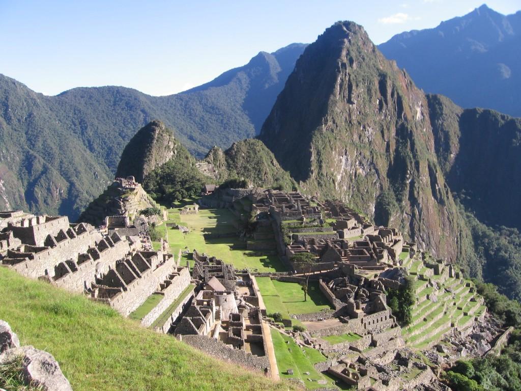 Machu Picchu classic shot