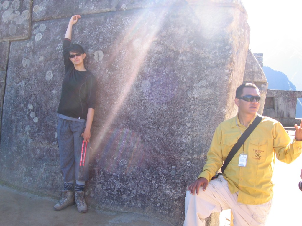 The Incas used some big stones, Mel pointing just how big, while Henrik explained something else imprtant :)